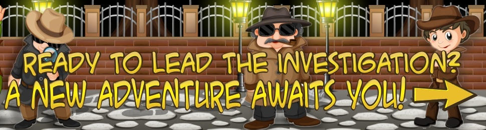 Detective mystery games for kids birthday party animation