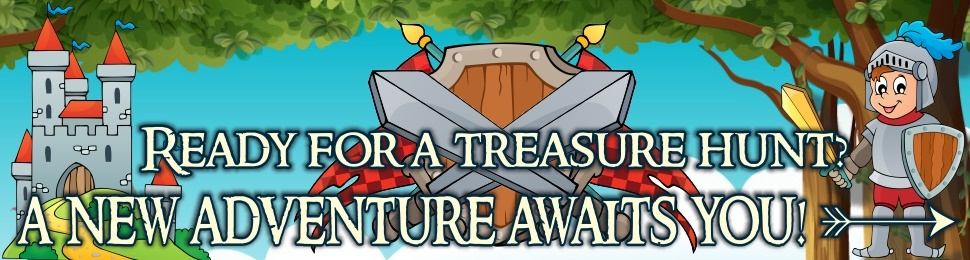 How to organize a treaure hunt for kids?