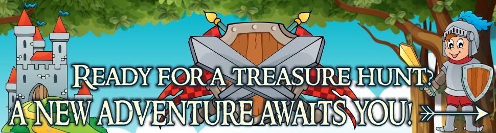 Treasure hunt games for kids