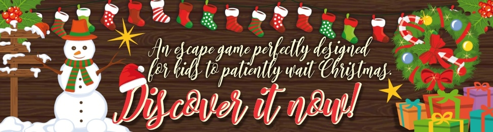 Christmas escape game for kids