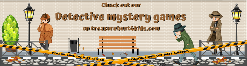Detective mystery games for kids from 4 to 12 years old