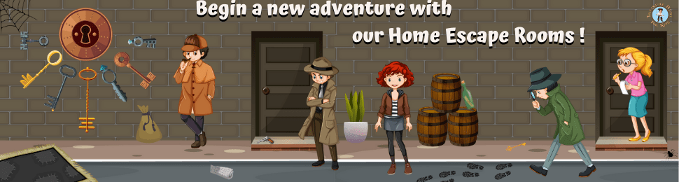 Check out our escape rooms at home for kids