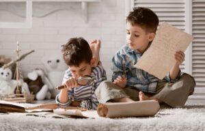 Printable treasure hunt game for kids