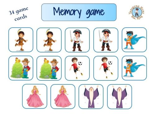 Train your brain with memory game