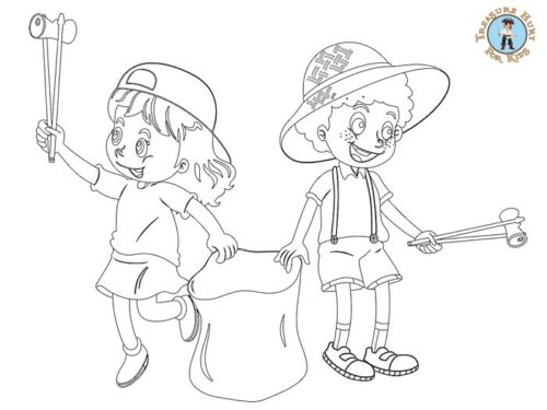 Eco Friendly coloring page