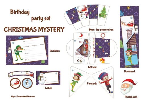 Christmas party decorations and supplies