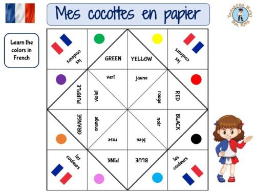 French color fortune teller