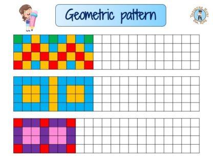 Kids geometric pattern