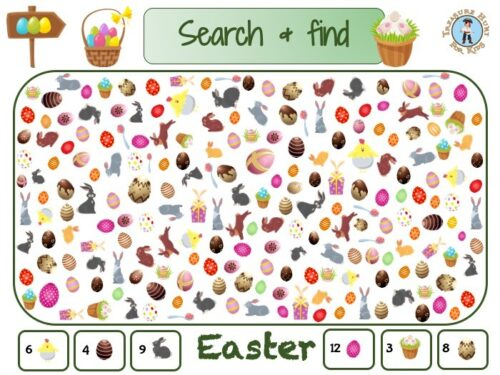 Easter search and find