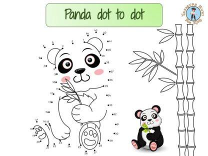 Panda dot to dot