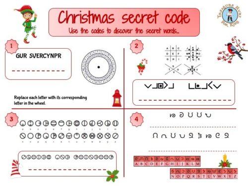 Christmas secret code