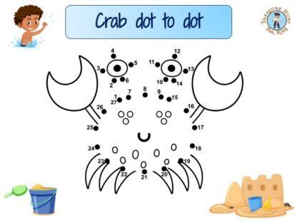 Crab dot to dot