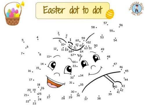 Easter dot to dot