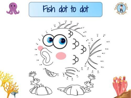 Fish dot to dot