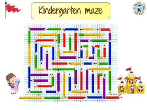 Kindergarten maze