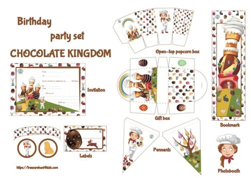 Printable decorations for Easter