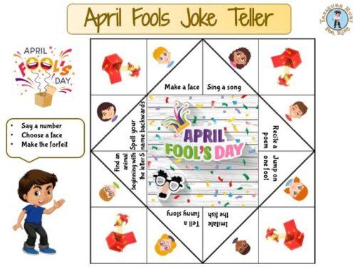 April fools joke teller