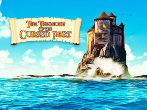 Printable treasure hunt: the treasure of the cursed fort