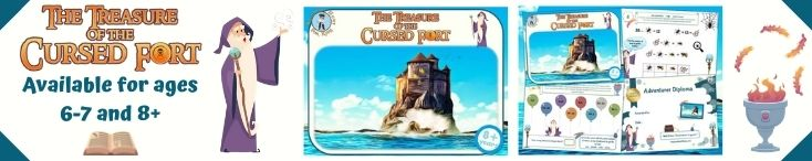 Cursed Fort treasure hunt for kids party