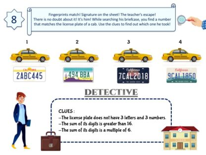 Clue for printable detective mystery game