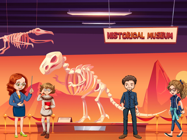 Dinosaur mystery party game for kids aged 8 years and older