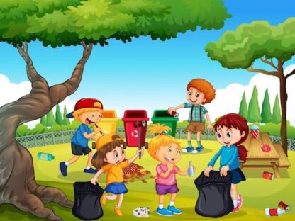 Kids game to learn about ecology, environment and biodiversity