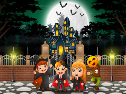 Print and play Halloween party game for kids