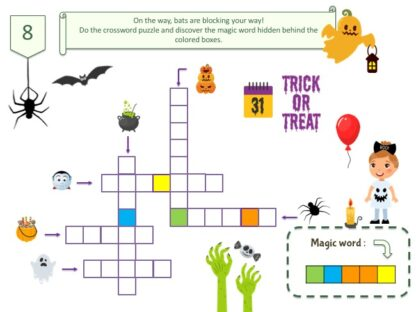 Halloween treasure hunt puzzle
