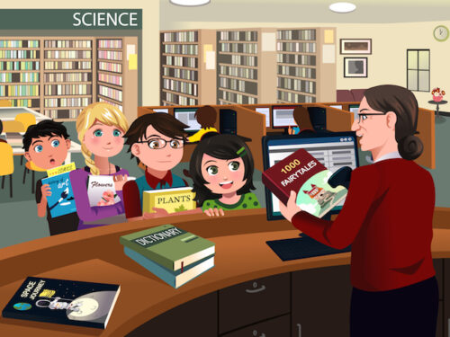 Library detective mystery game for kids birthday party
