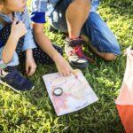 Orienteering race for kids