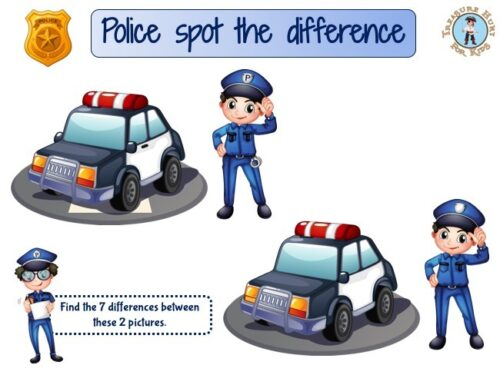 Police spot the difference