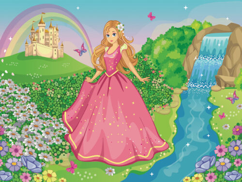 Printable princess treasure hunt game