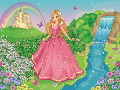 Princess treasure hunt Printable for kids