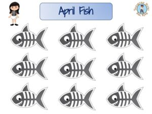 April Fool's Day games: French April fish to print