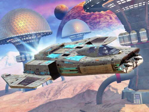 Space war escape party game, Star Wars universe