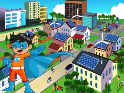 Print a superhero scavenger hunt game for your kids