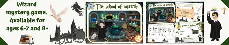 Harry Potter birthday investigation game