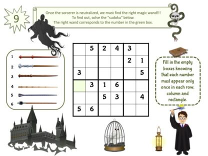 wizard party game puzzle