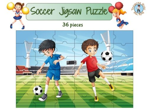 Soccer or football Jigsaw puzzle to print