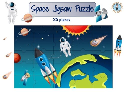 Space printable jigsaw puzzle