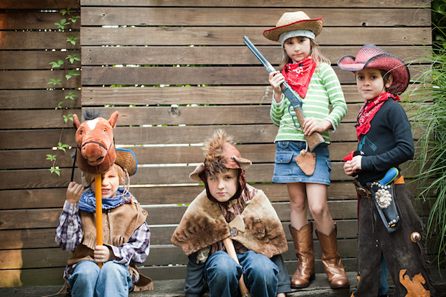 Cowboy party games for kids