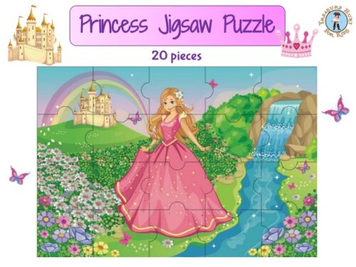 princess jigsaw puzzle to print