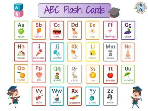 ABC flash cards to print