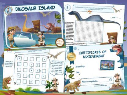 dinosaur escape game kit