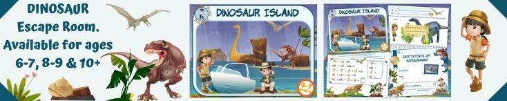 Dinosaur Island Escape room
