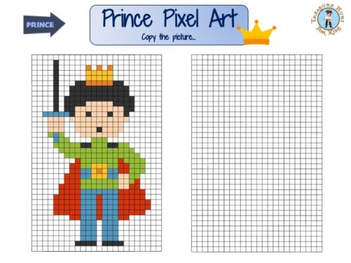 Prince Pixel Art