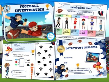 football investigation kit for kids birthday party