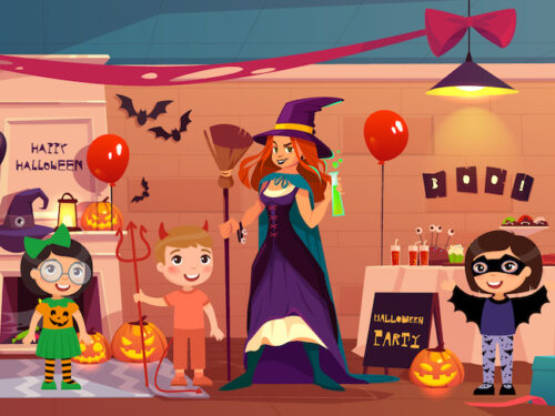 Halloween detective game kit for 8-9 year olds