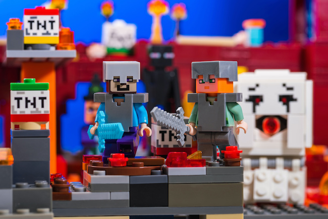 Minecraft party games and activities for kids