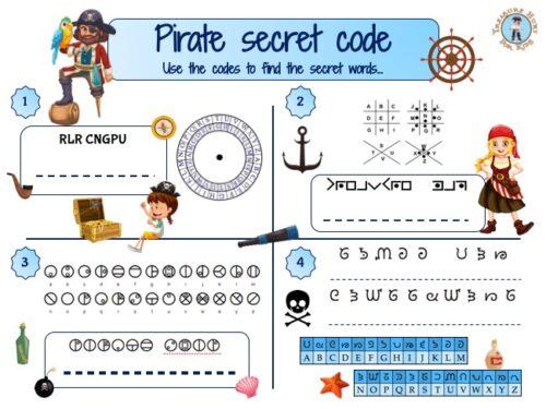 Pirate secret code